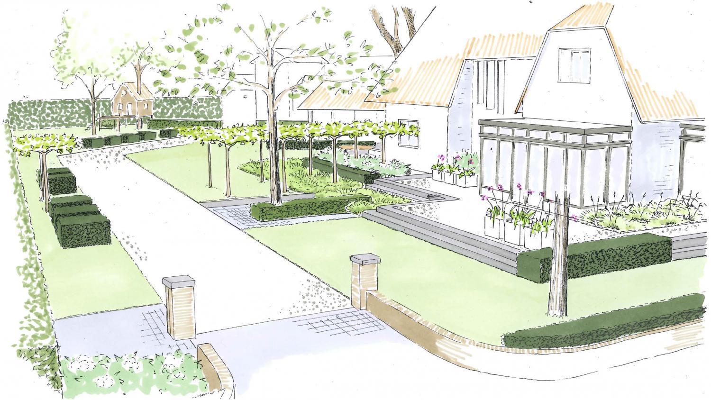 Tuinontwerp rodenburg tuinen - Tuin ontwerp exterieur ontwerp ...