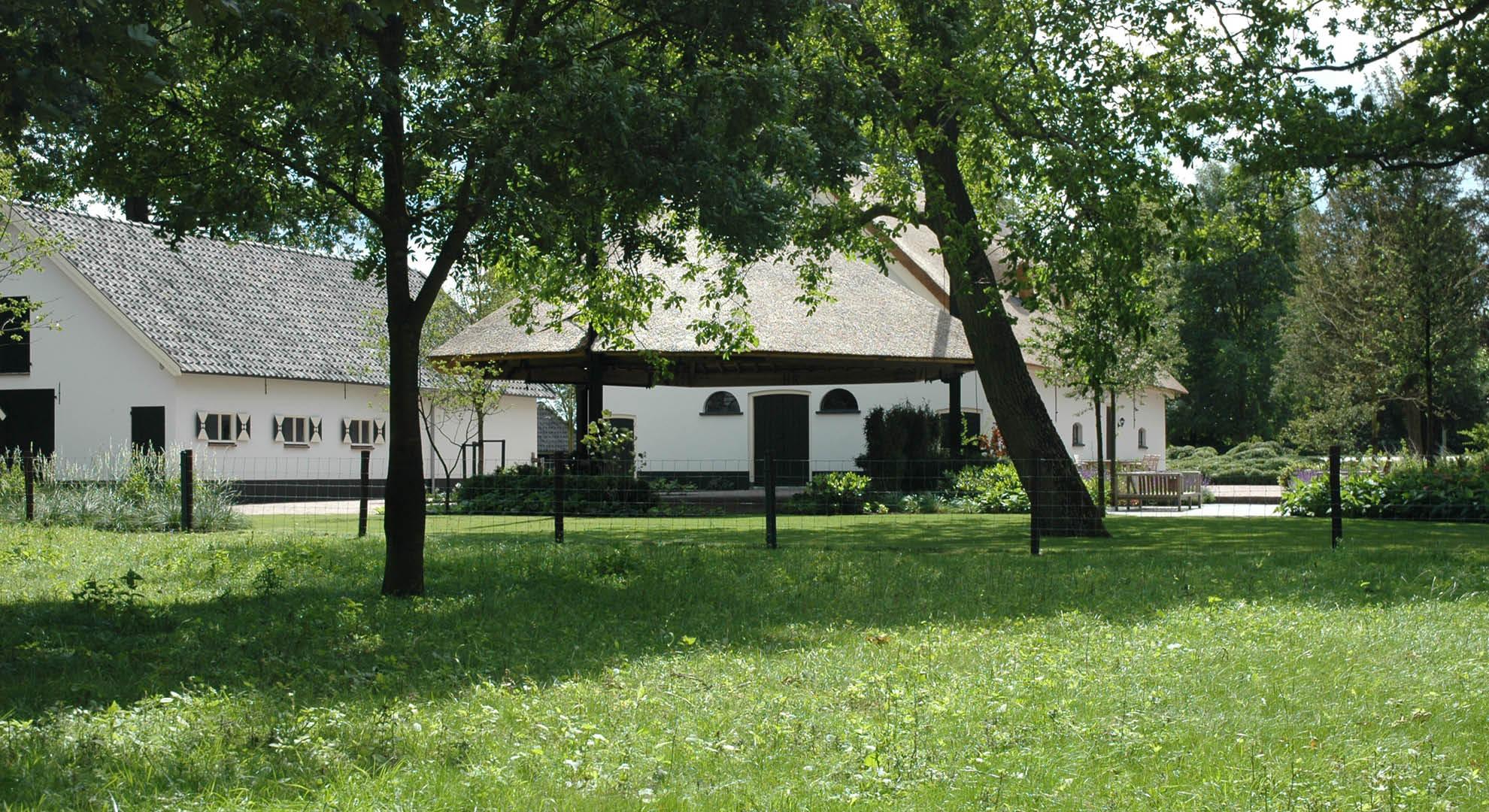 Boerderijtuin bij landgoed woerden rodenburg tuinen