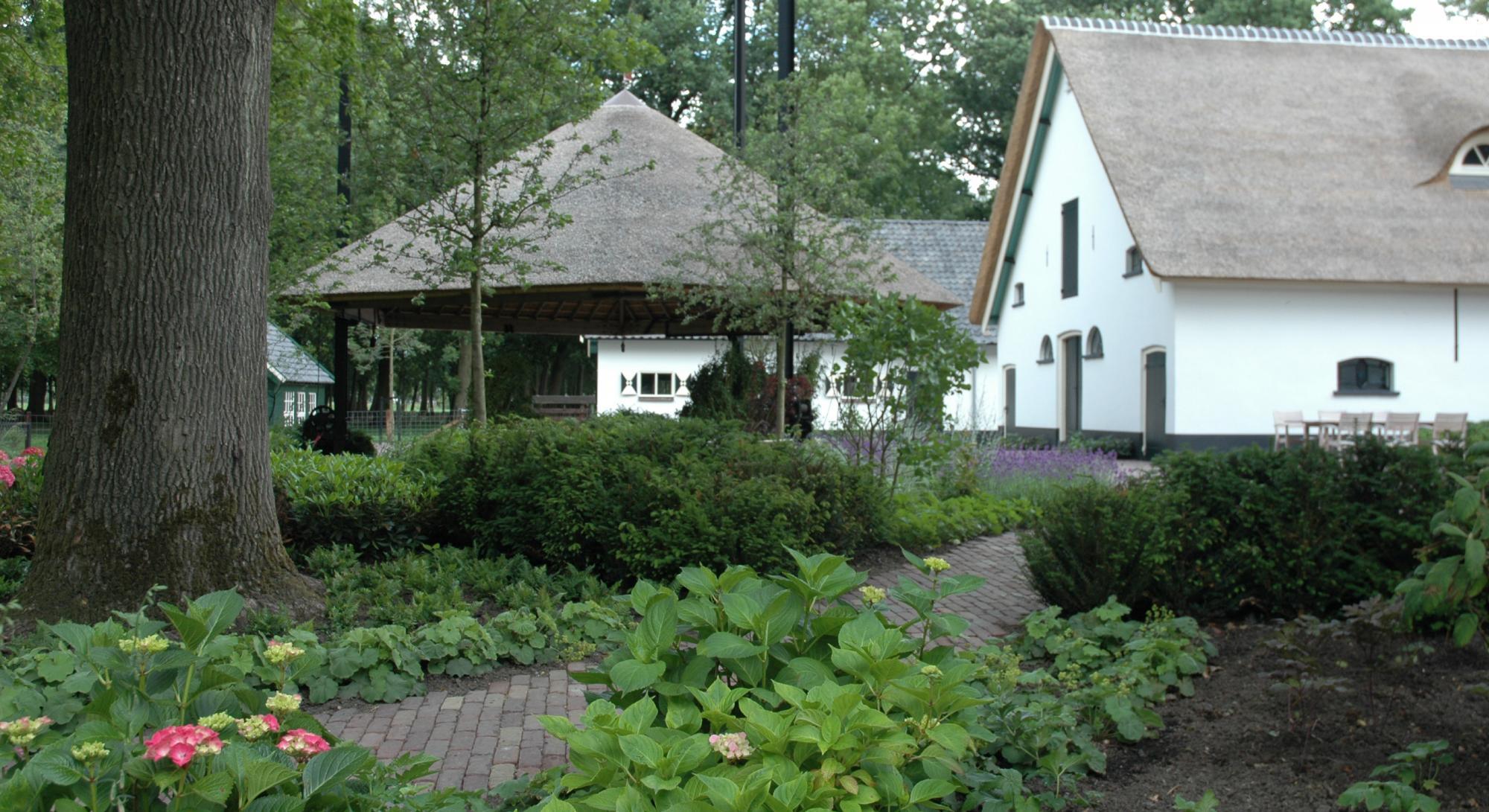 Boerderijtuin bij landgoed Woerden - Foto 11
