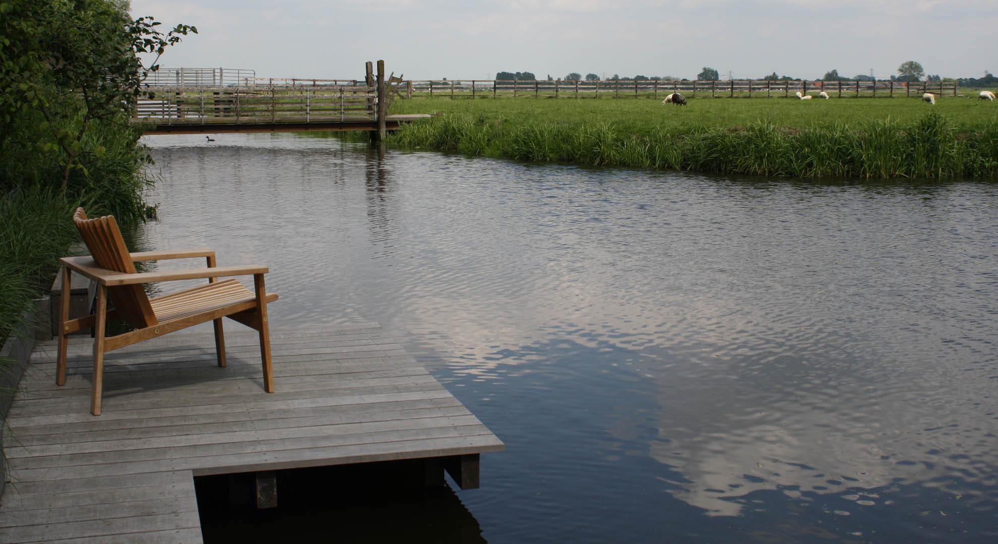 Boerderijtuin in het polderlandschap - Foto 6