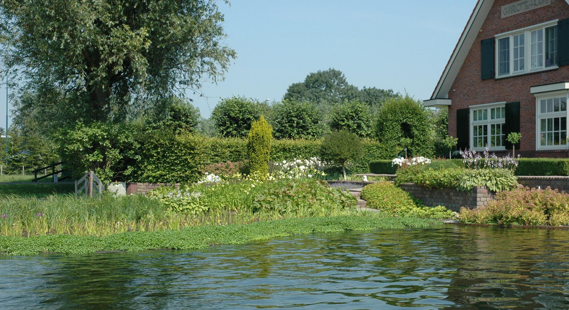 Boerderijtuin met zwemvijver - Foto 3