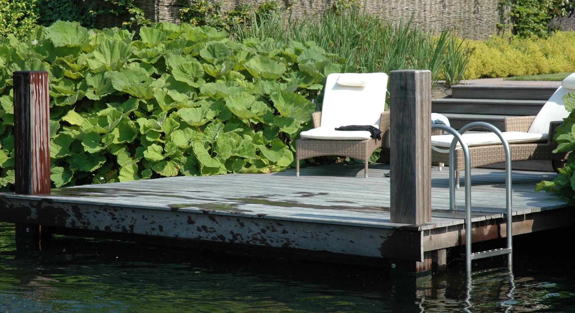 Boerderijtuin met zwemvijver - Foto 8