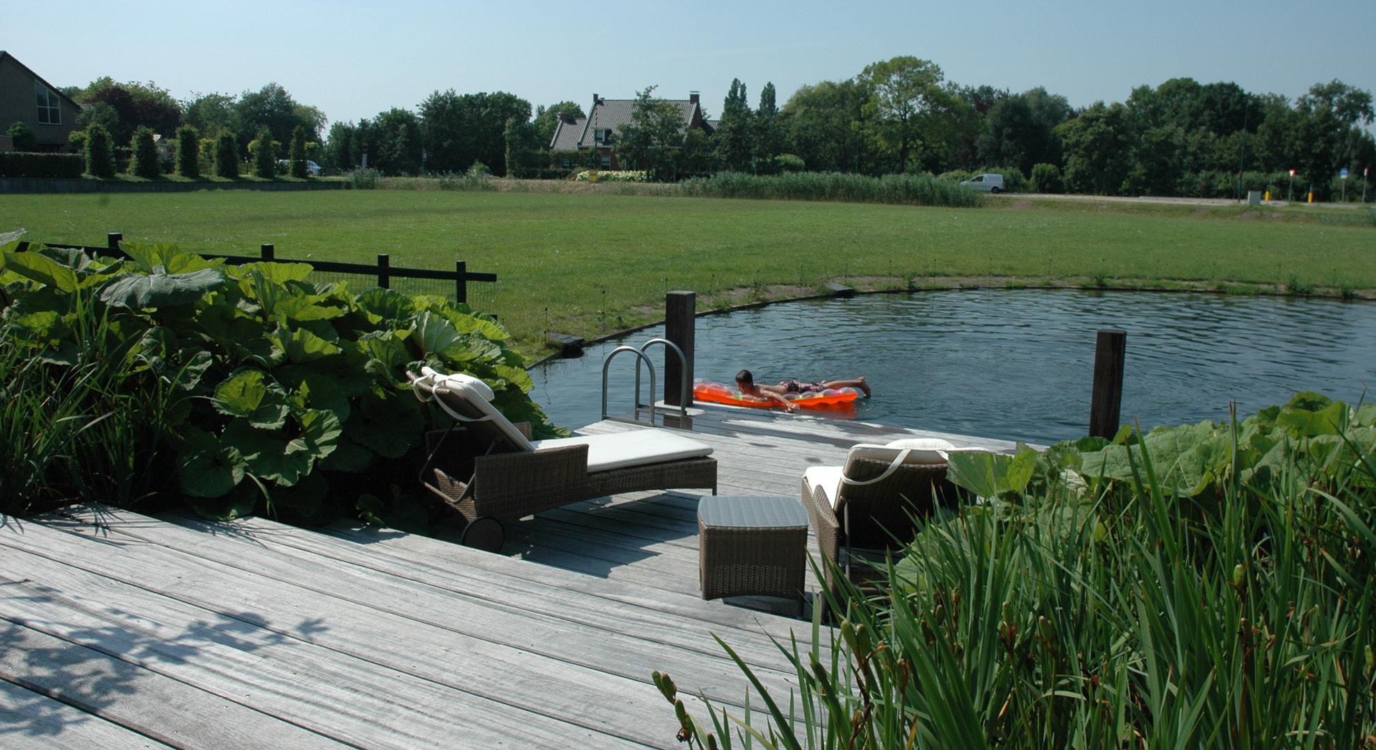Boerderijtuin met zwemvijver - Foto 5