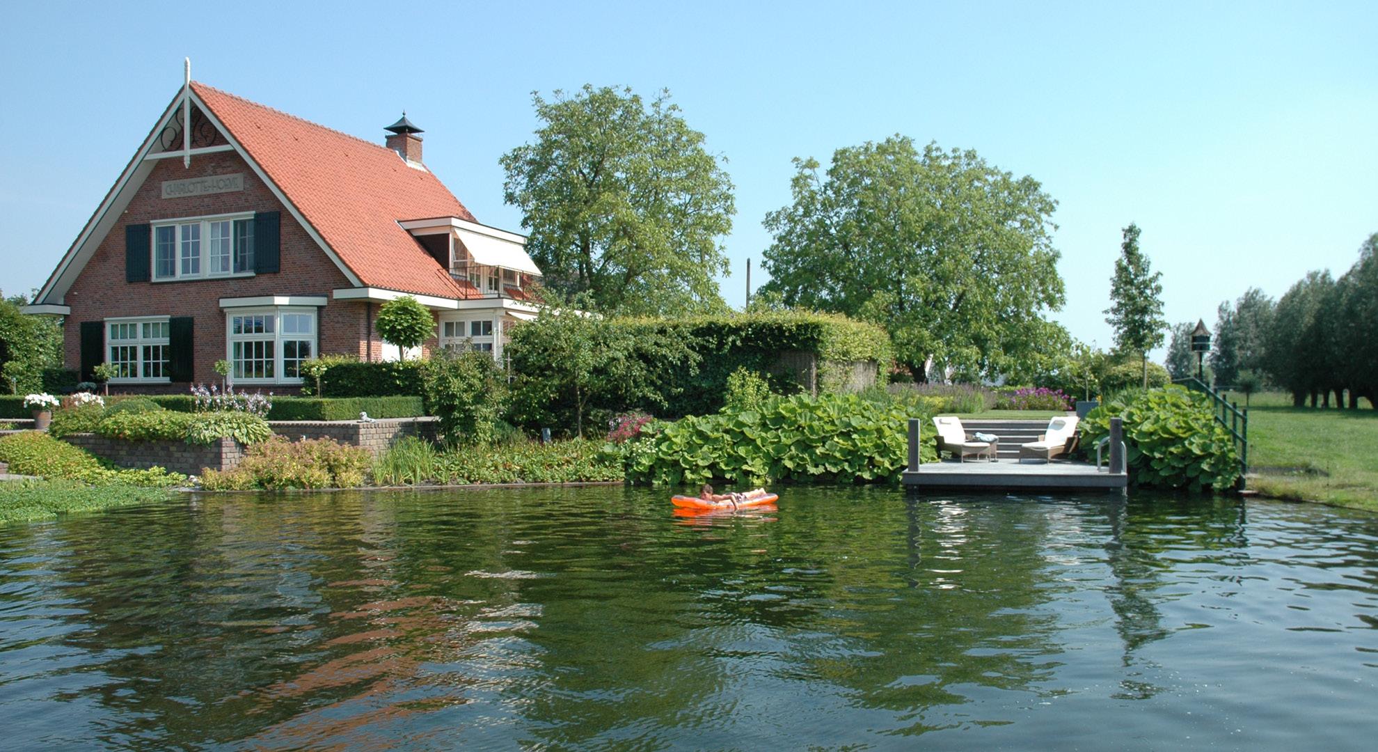 Boerderijtuin met zwemvijver - Foto 2