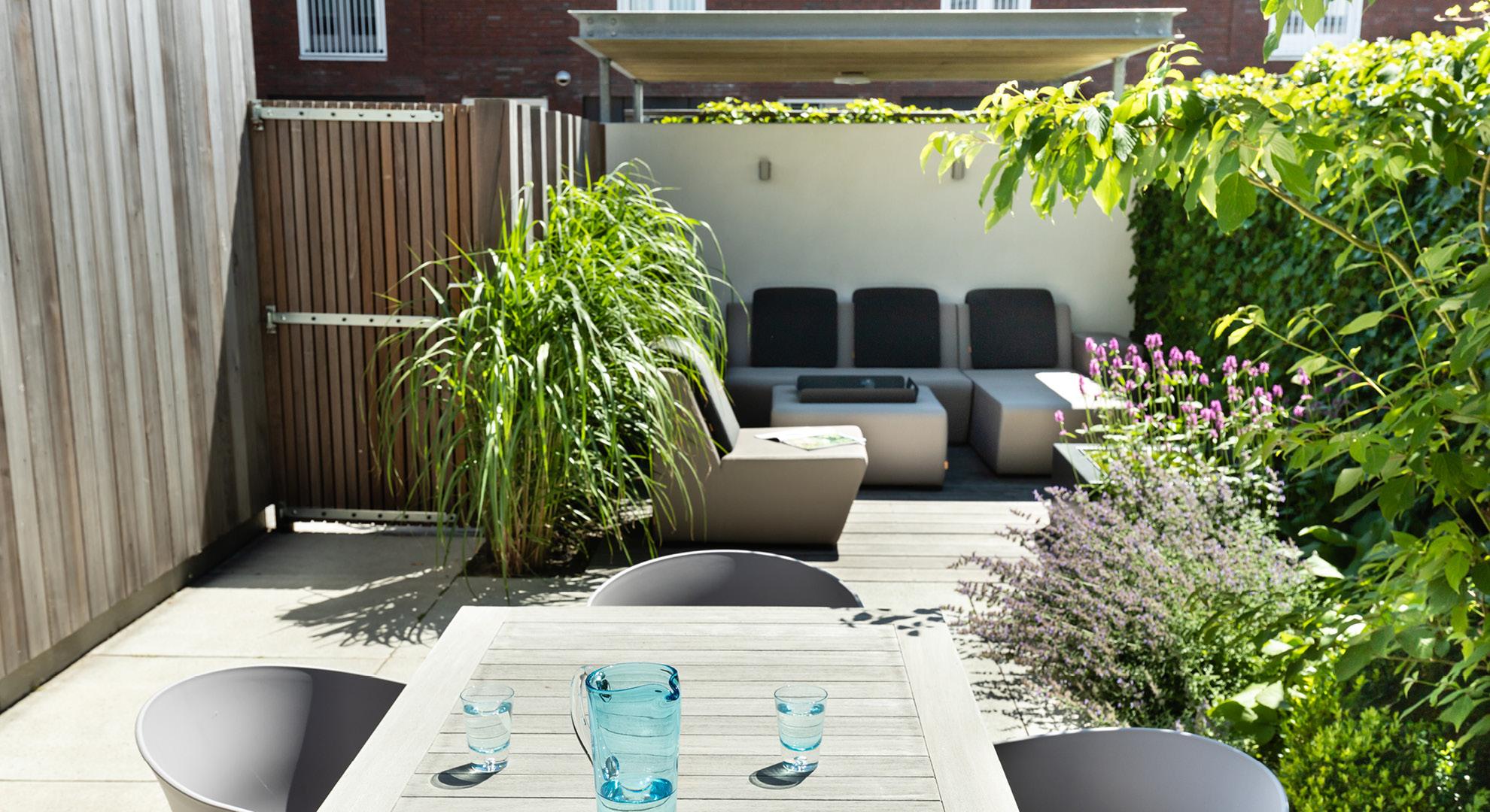 Compacte moderne tuin  - Foto 4