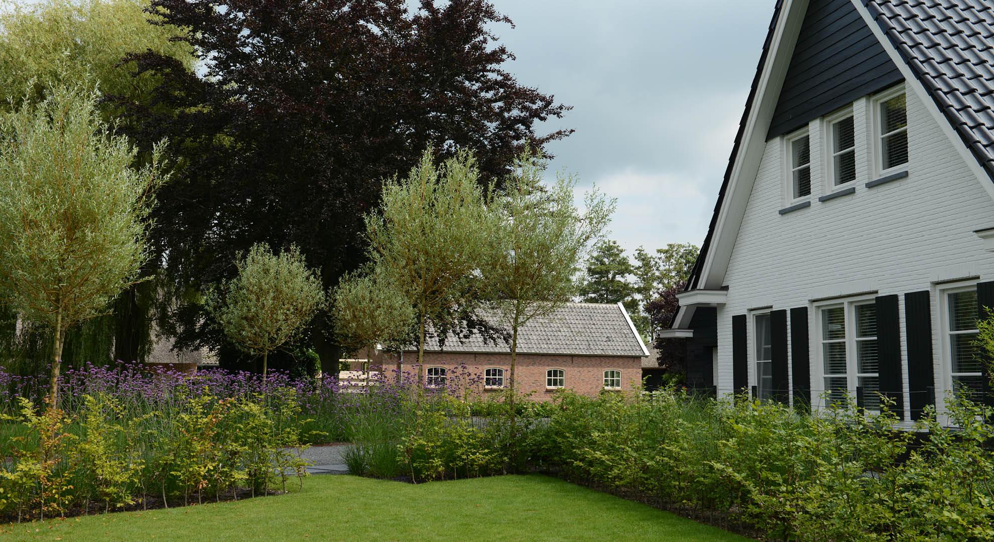 Landelijke tuin bij modern landhuis - Foto 11