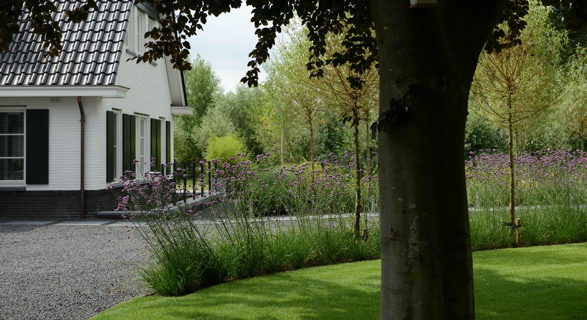 Landelijke tuin bij modern landhuis - Foto 3