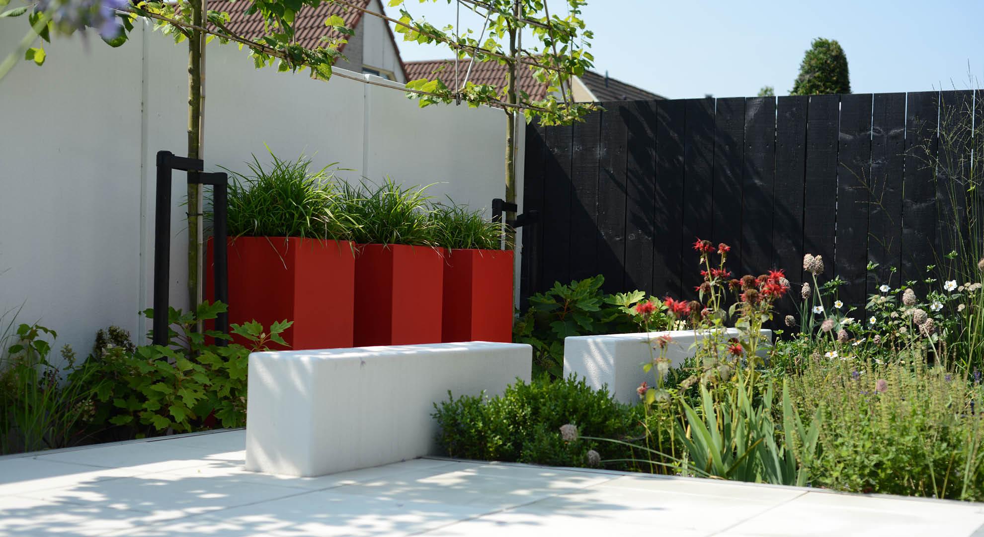 Moderne onderhoudsvriendelijke achtertuin - Foto 7