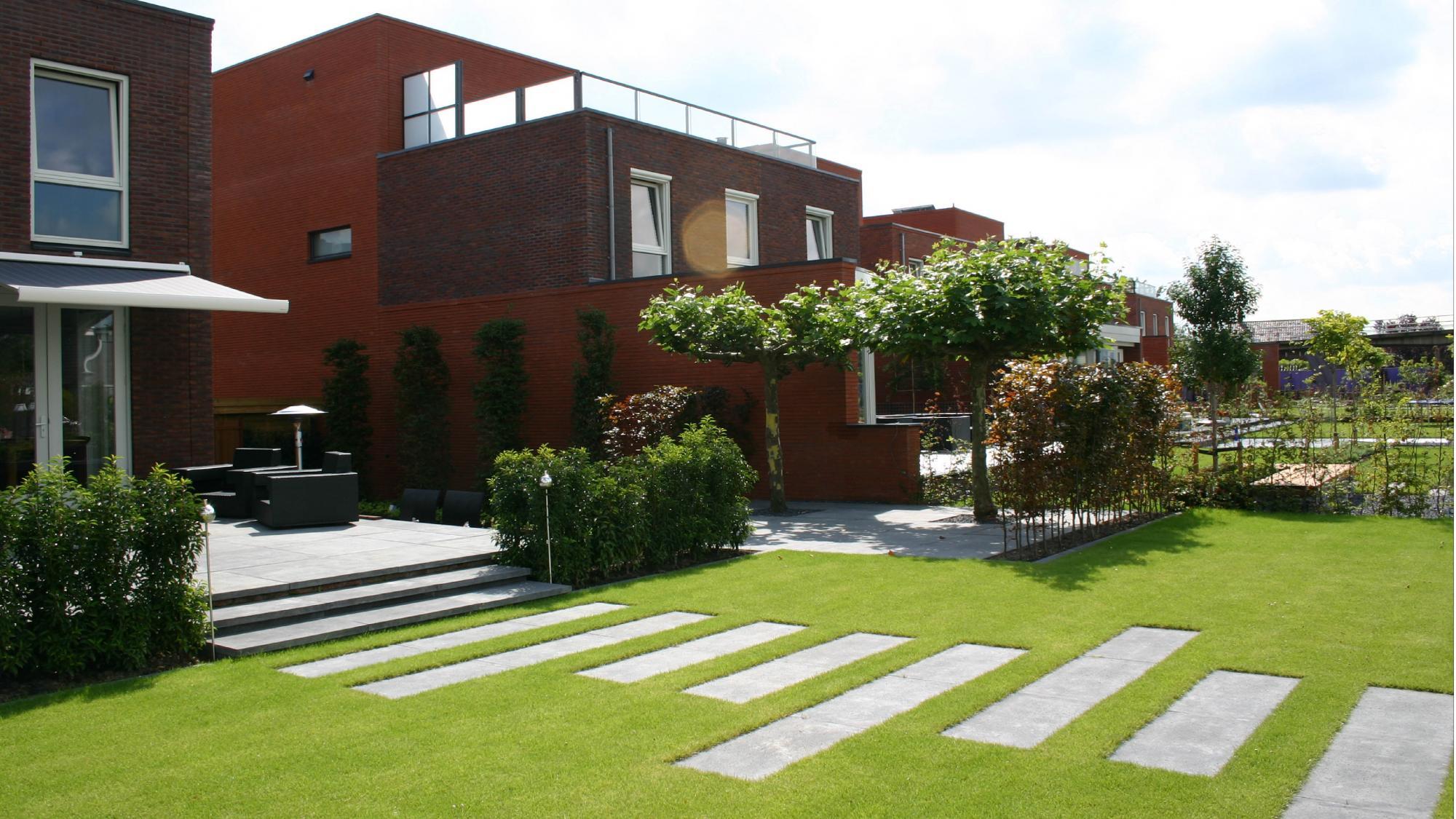 Moderne onderhoudsvriendelijke tuin  - Foto 5
