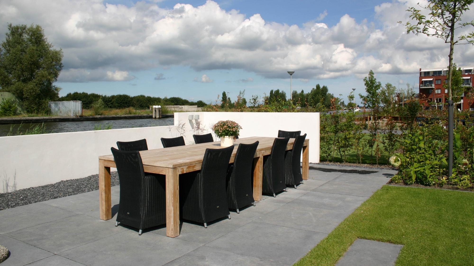 Moderne onderhoudsvriendelijke tuin  - Foto 4