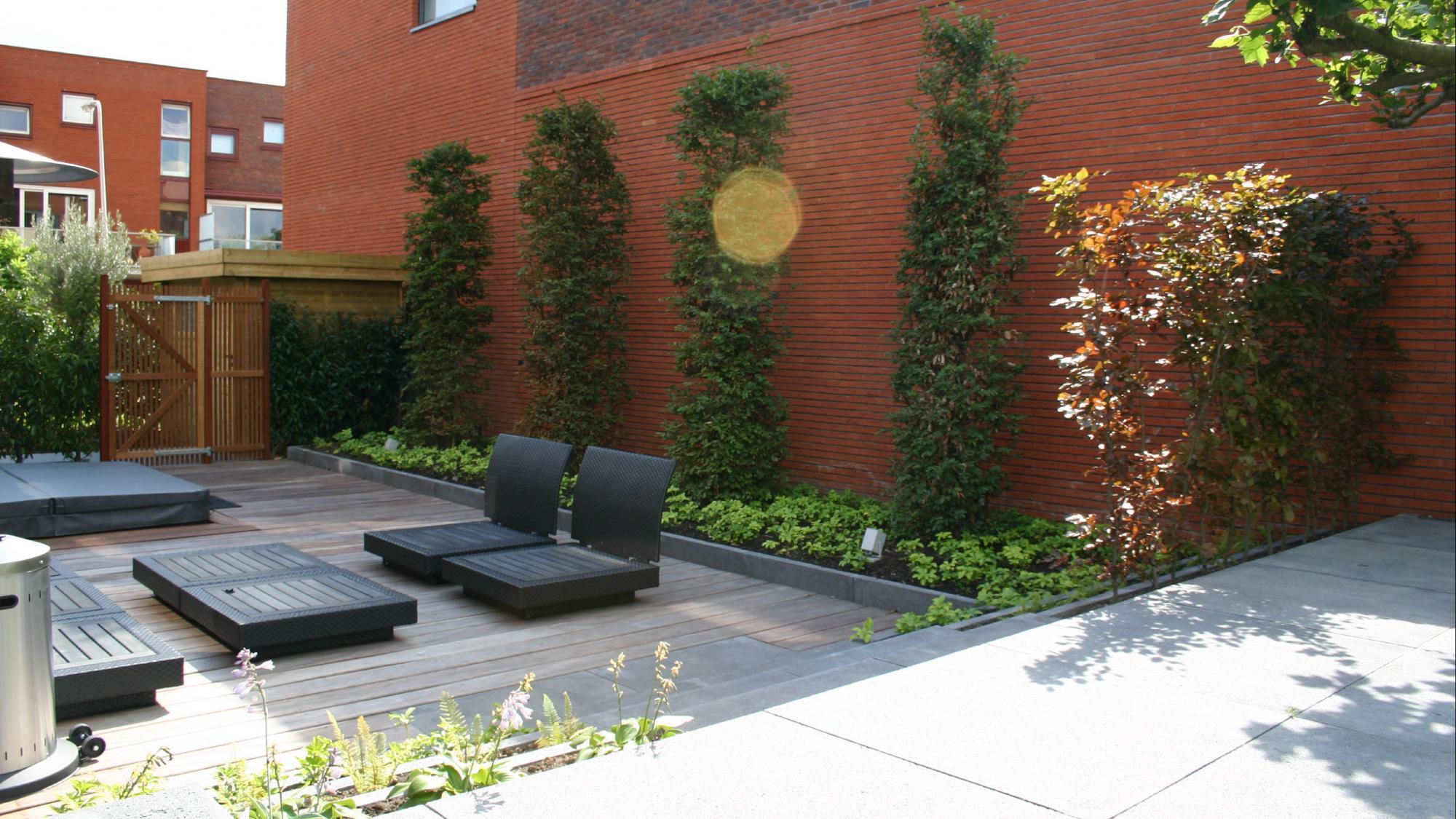 Tuinaanleg moderne tuinen rodenburg tuinen