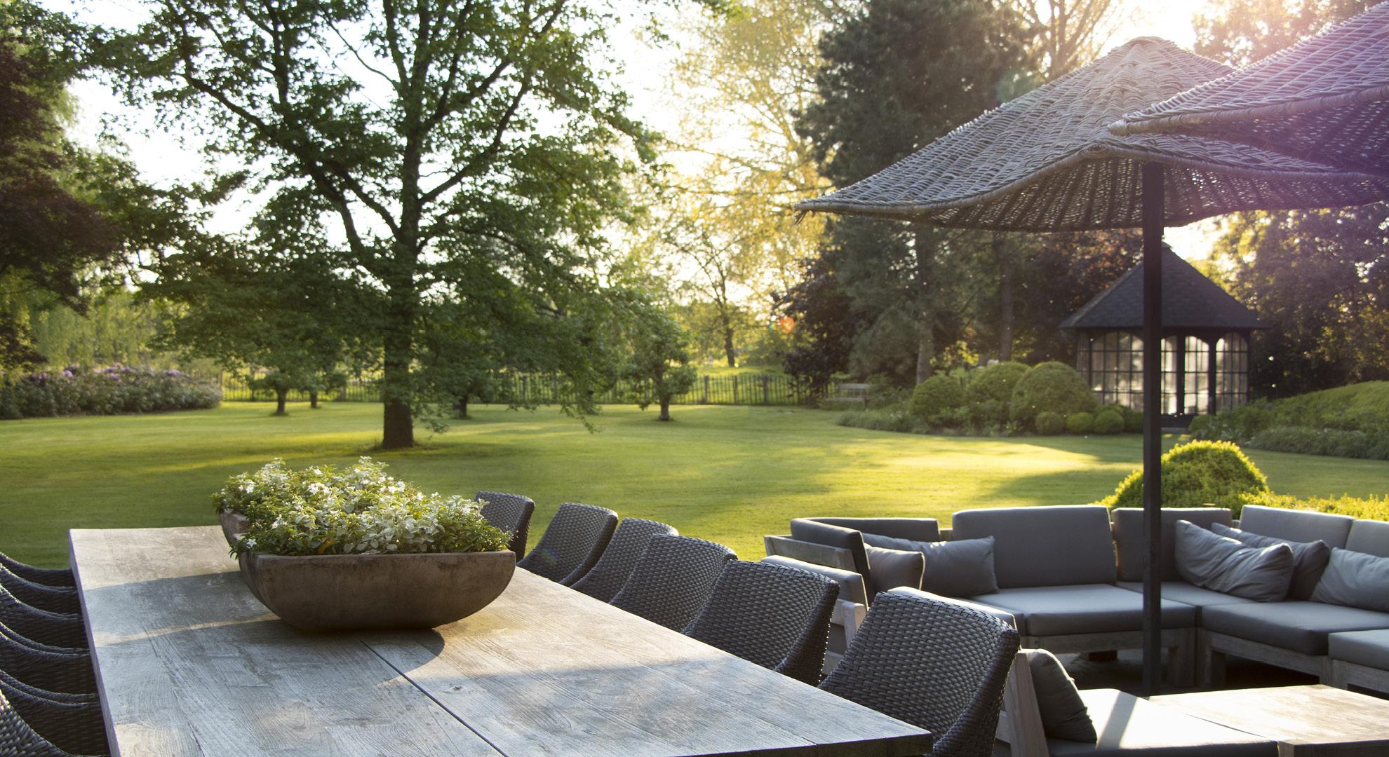 Particuliere tuin aan de oude Rijn - Foto 8