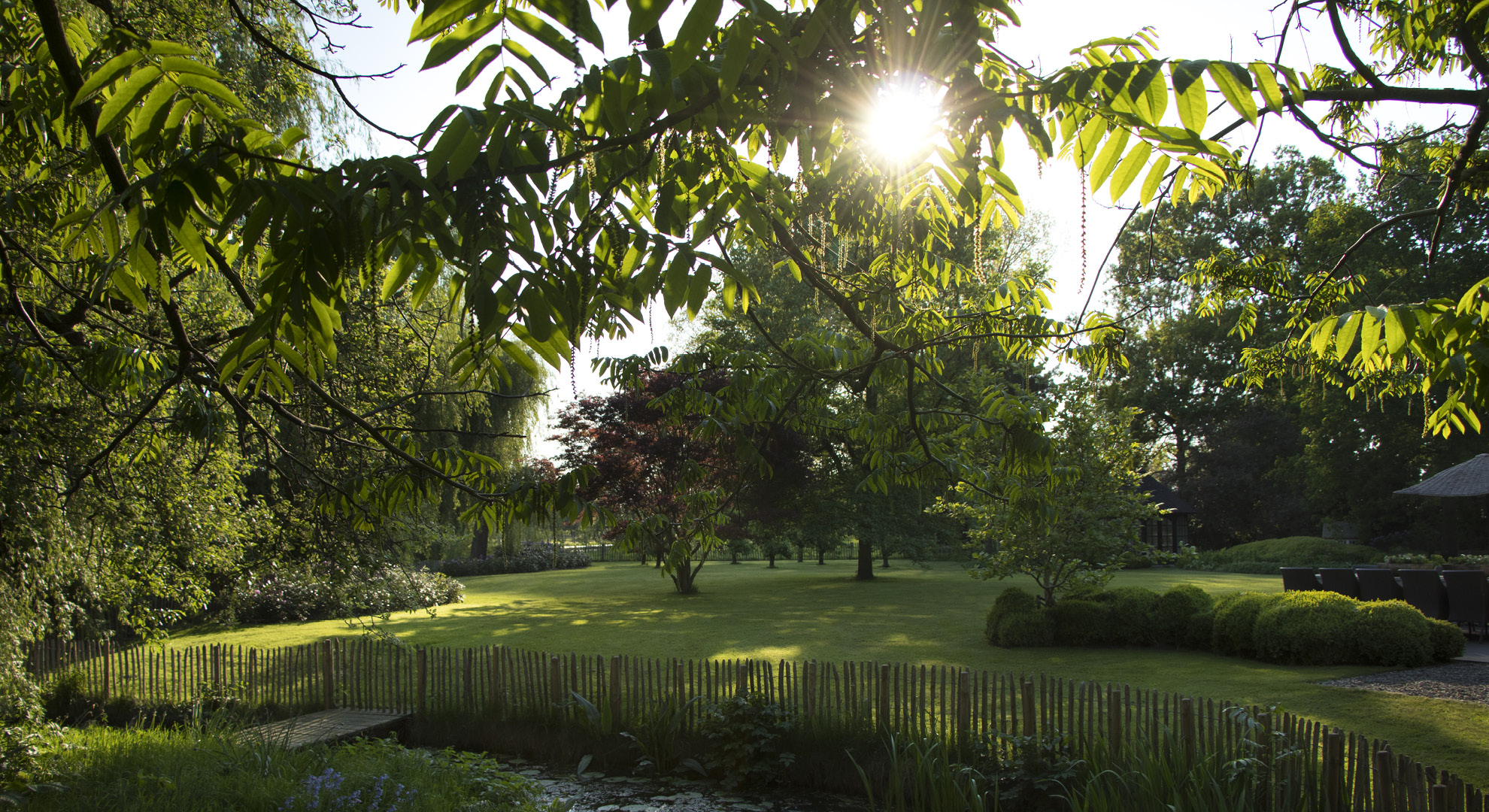 Particuliere tuin aan de oude Rijn - Foto 4