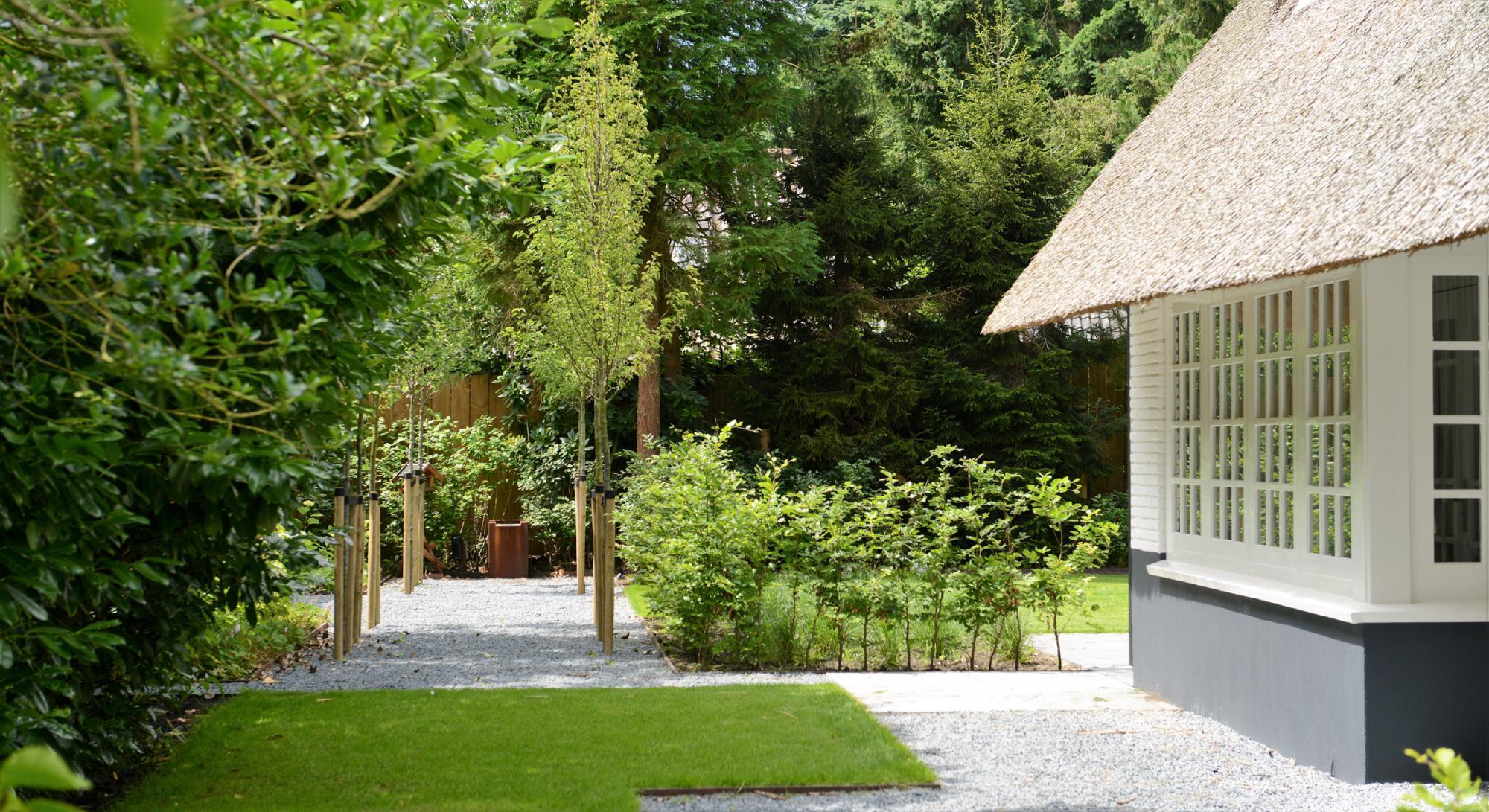 Villatuin met eikenhouten kapschuur  - Foto 4
